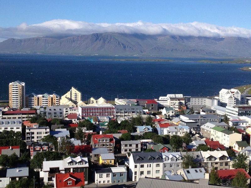 איסלנד מהגובה