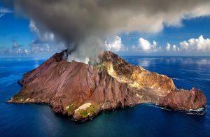 התפרצות של הר געש